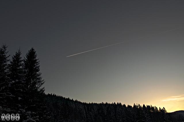 Spotless sky