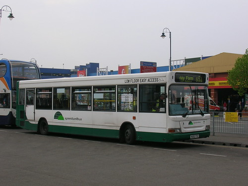 A picture of a Dennis Dart SLF in SpeedwellBus livery