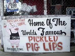 Pickled Pig Lips