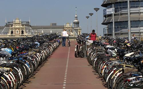 Aparcamiento de Bicis en Amsterdam