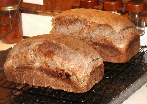 Piping hot loaves, ready to eat!