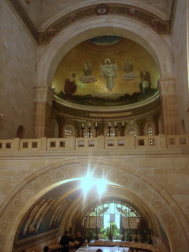 inside the Church of the Transfiguration