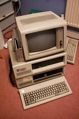 2 x IBM PC XTs