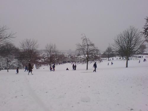 snow in SE London