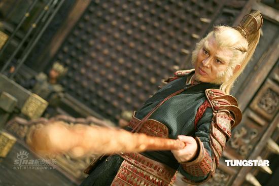 Jet Li as the Monkey King