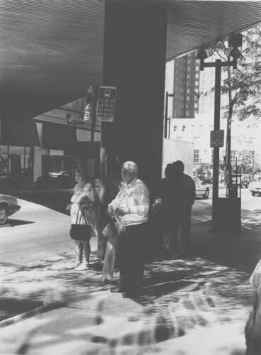 Milwaukee Bus Stop, Circa 1990