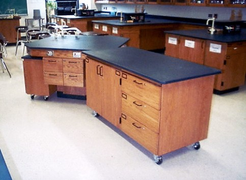 New Trier Township High School Movable Demo Table