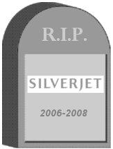 Silverjet Tombstone
