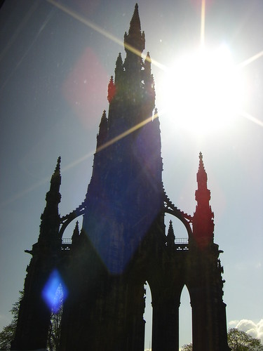 Scott Monument built in honor of author Sir Walter Scott