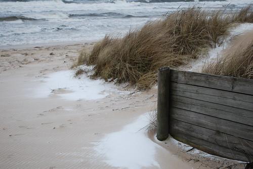 Snow, wind, sand and sea
