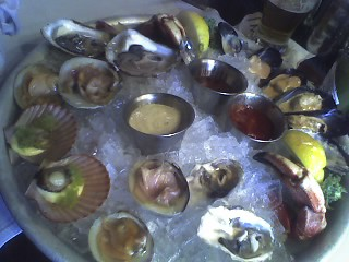 Cell phone photo  Max's oyster bar, Hartford Ct