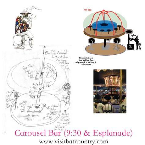 Carousel Bar (rough plan)