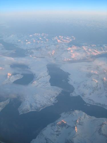Above Newfoundland
