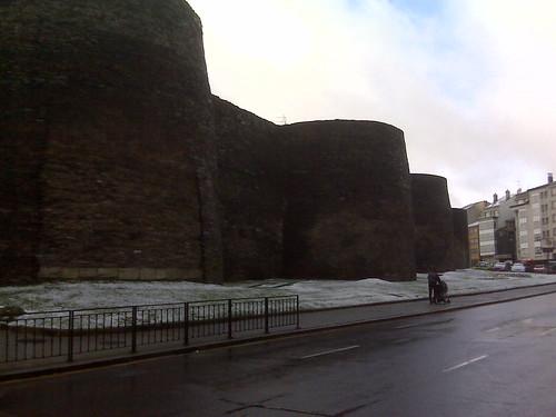 Ronda de la Muralla, Lugo