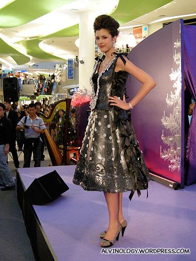 S$500,000 dress