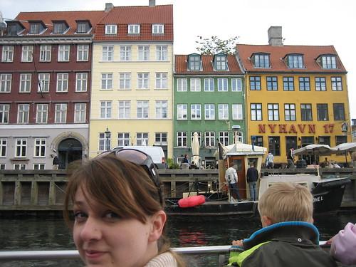 Copenhagen harbor and Kara