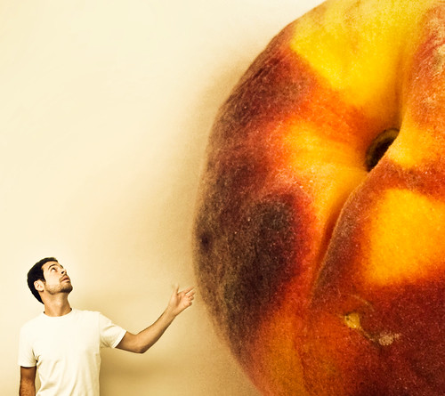 Aaron and the Giant Peach by aknacer.