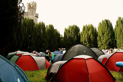 Campers @ Castle Palooza