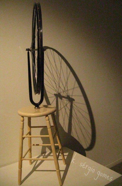 a roda de bicicleta, marcel duchamp