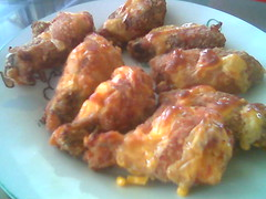 Mrs STP's cheesey chicken wings