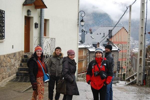 El equip que exploró Boí Taüll