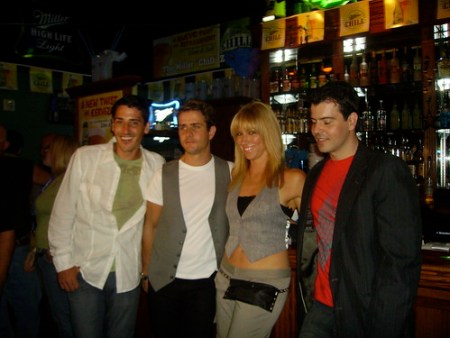 New Kids - So much history with these guys! SO happy for their comeback! This was taken at The Fatone Family Foundation event in Orlando