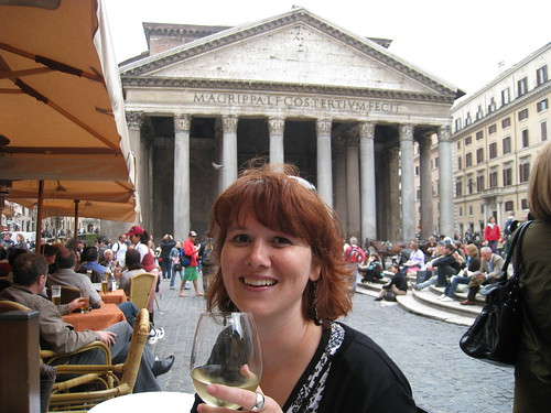 Eating at the Pantheon