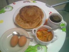 STP's roti pratha breakfast
