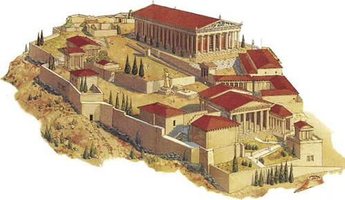 vista general de la Acrópolis (Atenas)