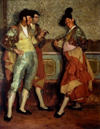 Ignacio Zuloaga y Zabaleta: Torerillos de pueblo (1906)