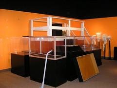 Empty Exhibit Cases