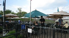 the fab deck at Legend Brewing