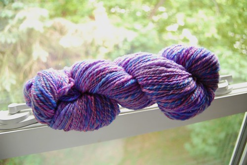 Plied handspun yarn