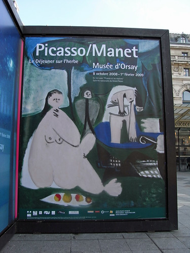 Picasso / Manet poster