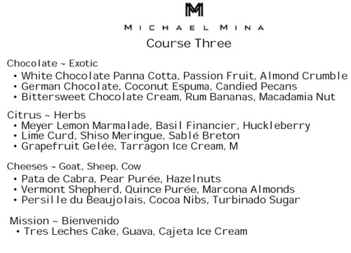 Course Three at Michael Mina, MyLastBite.com