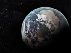 Planet Earth (III) by Aaron Escobar