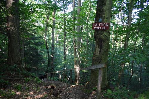 Caution - Steep Hill