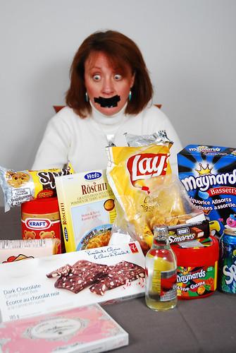 no more junk food