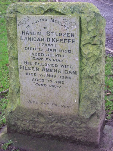 O'Keeffe Tombstone on Hill of Tara