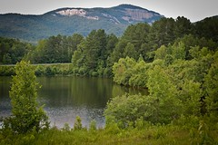 View of Table Rock Mountain from the Lake