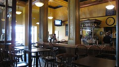 the bar at Brewer's Alley