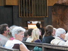 concert in Temppeliaukio Church