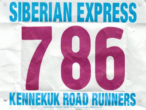 Siberian Express race bib