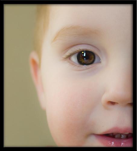 Cooper super close up