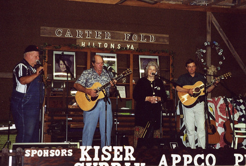 Carter Fold, Hiltons, VA., August 2001