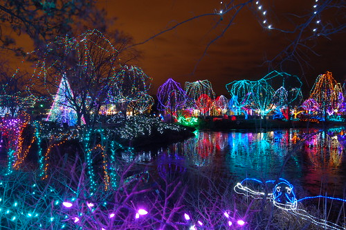 Columbus Zoo Wildlights (Christmas Lights)
