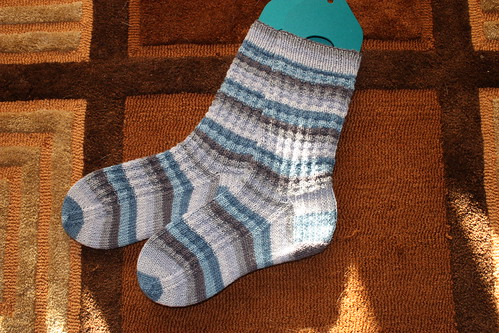finished those socks!