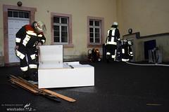 Feuer Bürgerhaus Schierstein 20.12.08