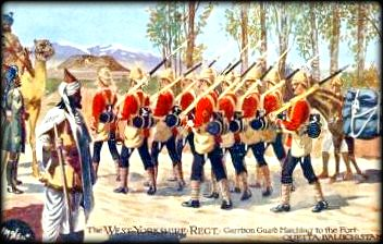 british troops quetta balochistan 1880's by colonialbalochistan.