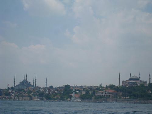 the Blue Mosque & Hagia Sofia